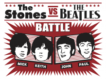 The Stones vs. The Beatles Battle